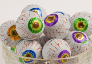 candy eyeballs
