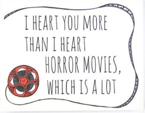 The Best Horror Themed Valentines. Period.