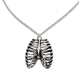 rib necklace