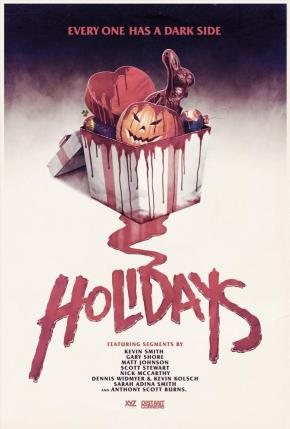Horror Anthology Holidays (2016) Review