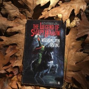 The Legend of Sleepy Hollow (1820) #31DaysofSpookyBooks